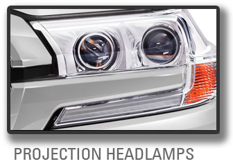 Projection Head Lamps