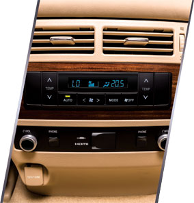 Rear Central Console With Dual AC And Entertainment Control